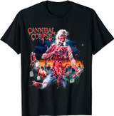 Cannibal Corpse Eaten Back to Life Front Only T-Shirt