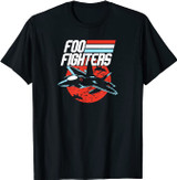 Foo Fighters Fighter Jet T-Shirt
