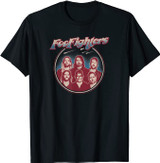 Foo Fighters Classic Portrait T-Shirt