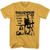 Halloween Japanese Flyer Ginger Adult T-Shirt