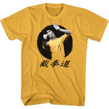 Bruce Lee Round Ginger Adult T-Shirt