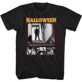 Halloween Pics and Quote Black Adult T-Shirt
