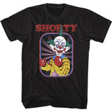 Killer Klowns From Outer Space Shorty Black Adult T-Shirt