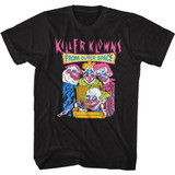 Killer Klowns From Outer Space Pizza Deliveries Black Adult T-Shirt