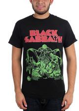 Black Sabbath Bloody Sabbath Cutout Men's T-Shirt Black