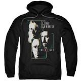 X-Files Lone Gunmen Adult Pullover Hoodie Sweatshirt Black