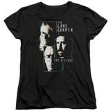 X-Files Lone Gunmen Women's T-Shirt Black