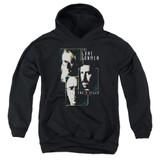 X-Files Lone Gunmen Youth Pullover Hoodie Sweatshirt Black