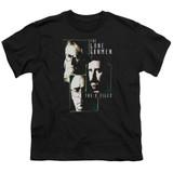 X-Files Lone Gunmen Youth 18/1 T-Shirt Black