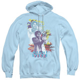 Miami Vice Freeze Adult Pullover Hoodie Sweatshirt Light Blue