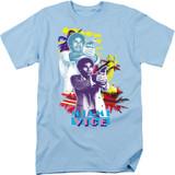 Miami Vice Freeze Adult 18/1 T-Shirt Light Blue