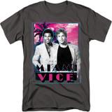 Miami Vice Gotchya Adult 18/1 T-Shirt Charcoal
