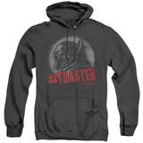 Battlestar Galactica #Toaster Adult Heather Hoodie Sweatshirt Black