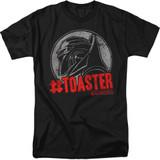 Battlestar Galactica #Toaster 18/1 T-Shirt Black