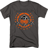 Battlestar Galactica Squadron 18/1 T-Shirt Charcoal