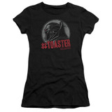 Battlestar Galactica #Toaster Junior Women's Sheer T-Shirt Black