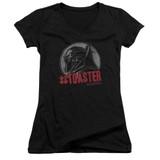 Battlestar Galactica #Toaster Junior Women's V-Neck T-Shirt Black
