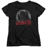 Battlestar Galactica #Toaster Women's T-Shirt Black