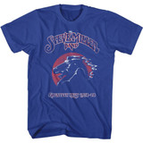 Steve Miller Band Greatest Hits Royal Adult T-Shirt