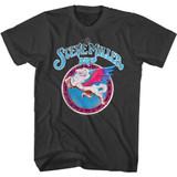 Steve Miller Band Circle Pegasus Smoke Adult T-Shirt