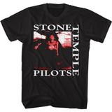 Stone Temple Pilots Core Tree Art Black Adult T-Shirt