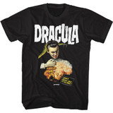 Hammer Horror Dracula and Lady Black Adult T-Shirt