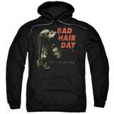 Predator 2018 Bad Hair Day Adult Pullover Hoodie Sweatshirt Black