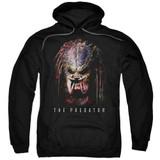 Predator 2018 Battle Paint Adult Pullover Hoodie Sweatshirt Black