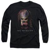 Predator 2018 Battle Paint Long Sleeve Adult 18/1 T-Shirt Black