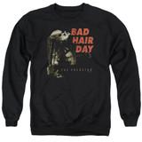 Predator 2018 Bad Hair Day Adult Crewneck Sweatshirt Black