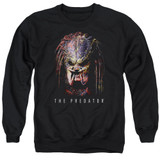 Predator 2018 Battle Paint Adult Crewneck Sweatshirt Black