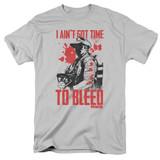 Predator No Time Adult 18/1 T-Shirt Silver