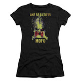 Predator 2018 Beautiful Junior Women's T-Shirt Sheer Black