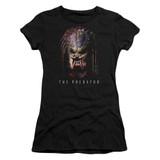 Predator 2018 Battle Paint Junior Women's T-Shirt Sheer Black