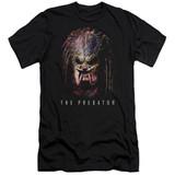 Predator 2018 Battle Paint Premium Adult 30/1 T-Shirt Black