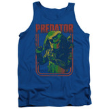 Predator Retro Predator Adult Tank Top Royal Blue