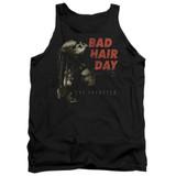 Predator 2018 Bad Hair Day Adult Tank Top Black