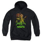 Predator Camo Predator Youth Pullover Hoodie Sweatshirt Black