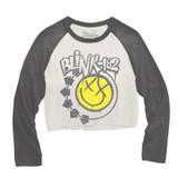 Blink-182 Smile Baseball Raglan Junior Women's Long Sleeve T-Shirt