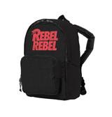 David Bowie Rebel Rebel Kids Backpack Bag