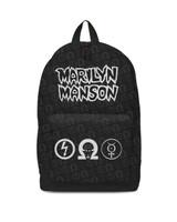 Marilyn Manson Logo Backpack Bag
