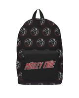 Motley Crue Heavy Metal Power Backpack Bag