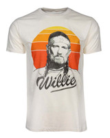 Willie Nelson Sunset Gradient Classic Adult T-Shirt