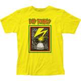 Bad Brains Capitol Fitted Jersey Classic Yellow T-Shirt