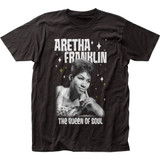 Aretha Franklin Queen of Soul Fitted Jersey T-Shirt