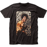 Aretha Franklin Swirly Fitted Jersey T-Shirt