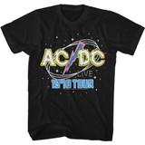 AC/DC 1978 Tour Black Classic Adult T-Shirt