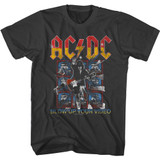 AC/DC Blow Up Your Video Screens Smoke Adult T-Shirt