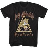 Def Leppard Hysteria Lep Black Adult T-Shirt