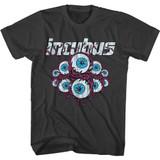 Incubus Logo and Eyeballs Smoke Adult T-Shirt